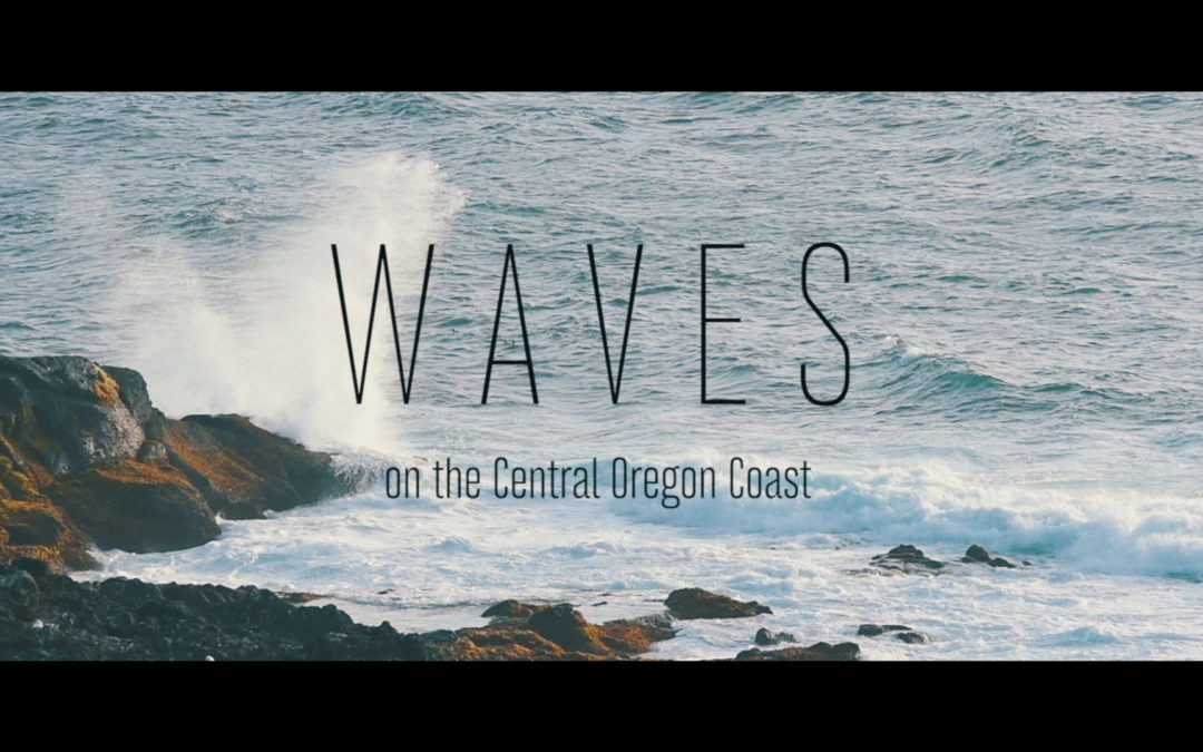 Waves On The Central Oregon Coast